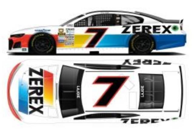 予約 CX72165ZRXCO ライオネルレーシング 1/64 シボレー カマロ NASCAR 2021 コリー・ラジョイ #7 ZEREX スローバック