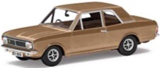 予約CGVA04119 コーギー 1/43 フォード FORD ロータス コルティナ Mk2 コリン・チャップマンカー アンバーゴールド