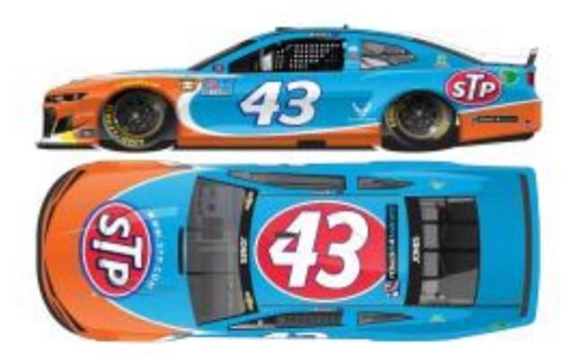 予約 C432165STTER ライオネルレーシング 1/64 シボレー カマロ NASCAR 2021 エリック・ジョーンズ #43 STP スローバック