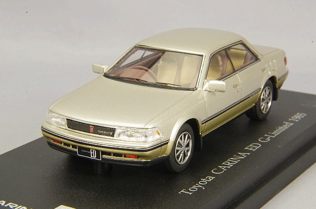 新品C43085 CAM@ 1/43 トヨタ カリーナ ED Gリミテッド 1985年型 シティエレガンストーニング