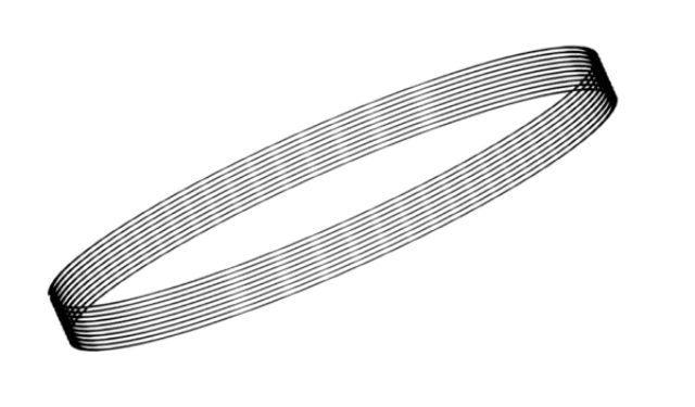 取寄せPG09 タメオキット   Black cable diameter 0,5mm 2 meters