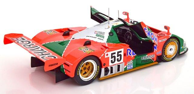 予約CMR175 CMR 1/18 マツダ 787B 1991 #55 Winner 24h Le Mans Weidler/Herbert/Gachot