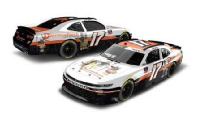 予約 N172165DBLJY ライオネルレーシング 1/64 シボレー カマロ NASCAR Xfinityシリーズ 2021 J.J.イェリー #17 ダイアモンドバック・ランド・サーヴィング
