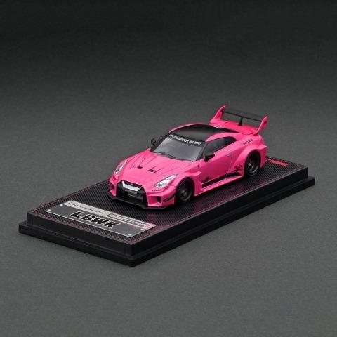 予約 IG2382 イグニッションモデル 1/64 日産 LBWK Silhouette WORKS GT Nissan 35GT-RR Pink LBWK限定