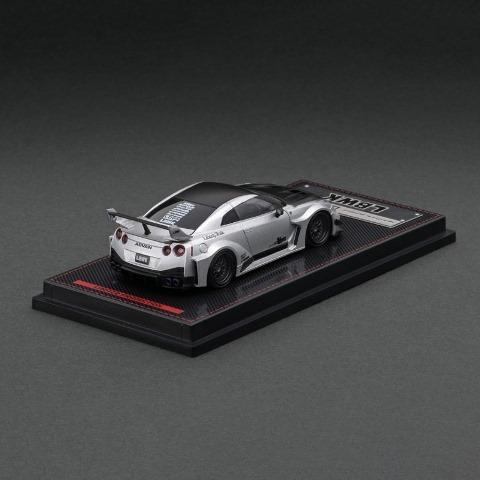 予約 IG2386 イグニッションモデル 1/64 日産 LBWK Silhouette WORKS GT Nissan 35GT-RR Silver LBWK限定