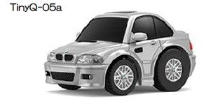 新品TinyQ-05a タイニー  BMW TinyQ BMW M3 (E46) シルバー