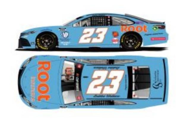 予約 C232165ROTDX ライオネルレーシング 1/64 トヨタ カムリ NASCAR 2021 ババ・ウォレス #23 ルート・インシュランス スローバック