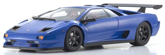 新品KSR18510BL 京商 1/18 ランボルギーニ ディアブロ SVR (ブルー) 限定500台 静岡ホビーショー2019