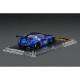 予約 イグニッションモデル 1/64 日産 LBWK限定 LB WORKS GTR Type2 ブルー 限定背景紙