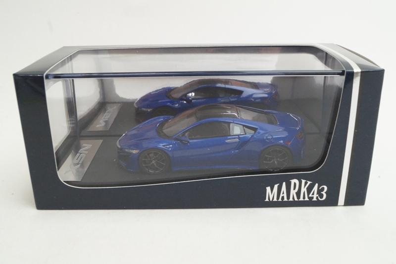 新品PM4324BL MARK43 1/43 ホンダ NSX ブルー