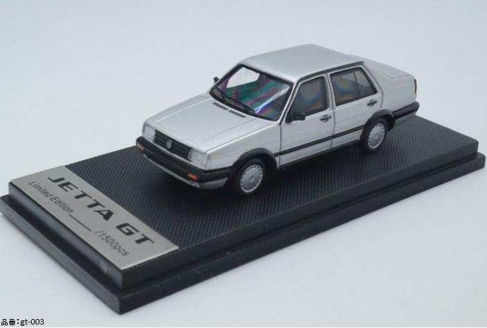 予約gt-003 モデルコレクト 1/64 フォルクスワーゲン ジェッタ GT シルバー