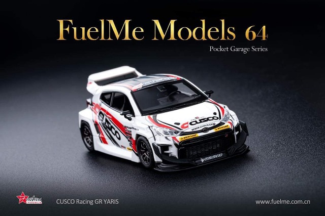 予約 FM64008PG-02 Fuelme Models 1/64 トヨタ ヤリス Cusco GR YARIS 限定