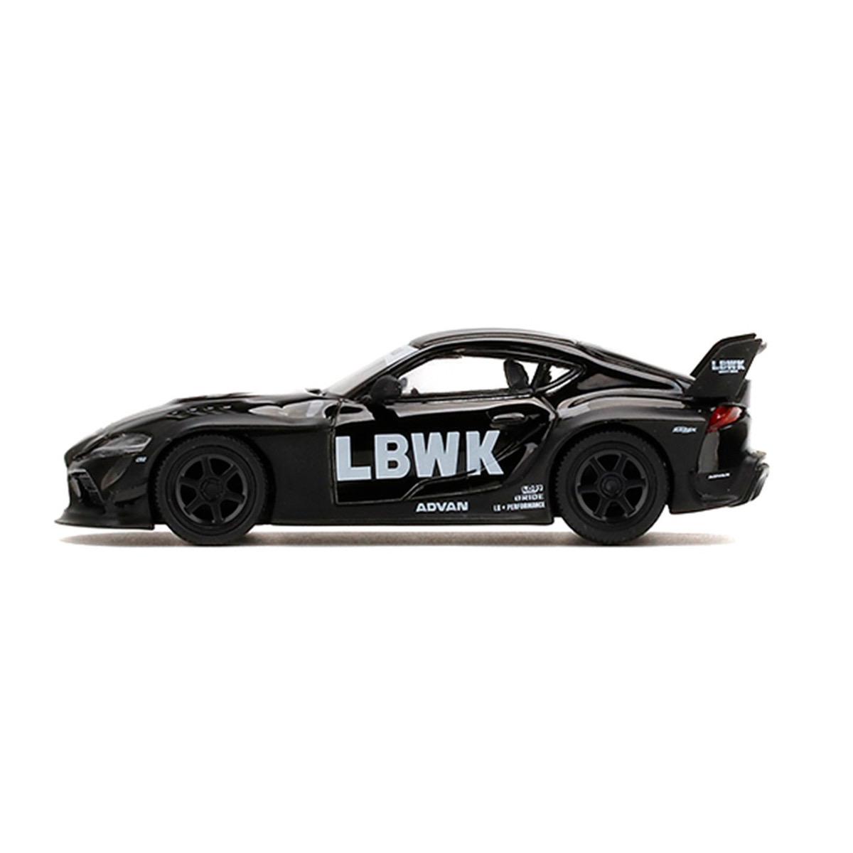 予約 MINI-GT LBWK限定 1/64 LB★WORKS Toyota GR Supra Black 右ハンドル