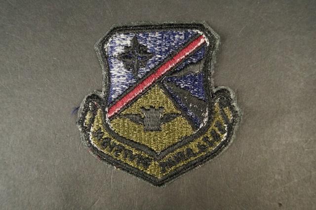 ワッペン USAF アメリカ空軍 第552エアコントロールウィング 空中管制機 DIVISION/中古