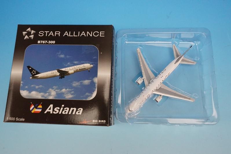 1/500 B767-300 アシアナ スタアラ/スターアライアンス HL7516 [5-2003-02] ビッグバード/中古