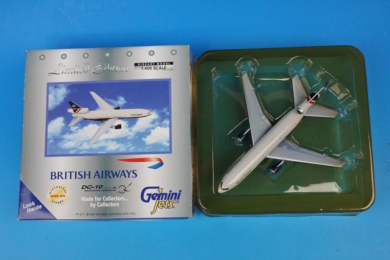 1/400 DC-10-30 ブリティッシュ G-BEBM [GJBAW293] ジェミニ/中古