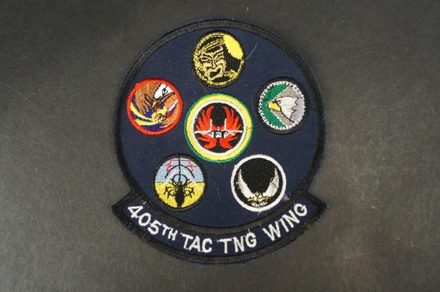 ワッペン USAF アメリカ空軍 第405戦術訓練航空団/中古