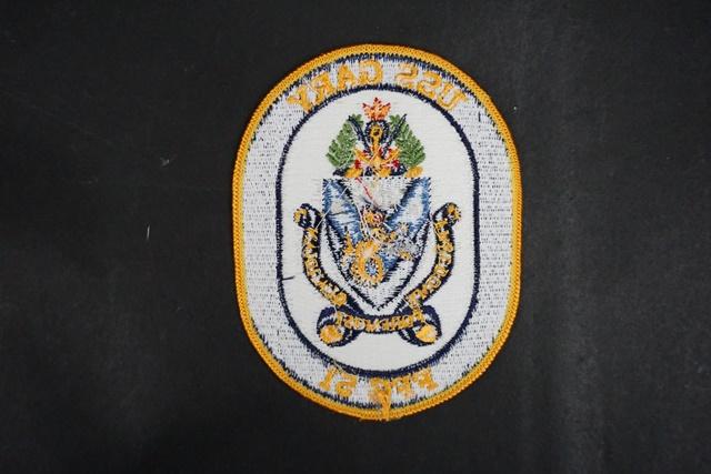 ワッペン USN アメリカ海軍 FFG-51 ゲイリー/中古