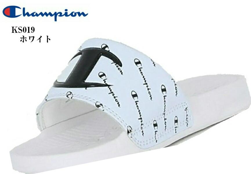 KIDS SLEIGH リゾート シャワー サンダル (Champion) CP KS019 チャンピオン 足なじみの良いフットベッド キッズ ジュニア 2020年SSモデル