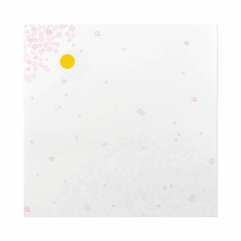 便箋 夜桜|pd-543