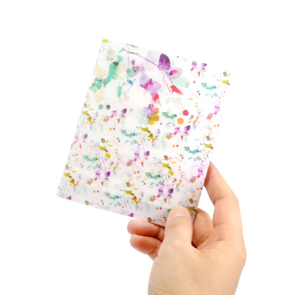 抗菌マスクケース ポケットサイズ フラワーイメージ cf-110