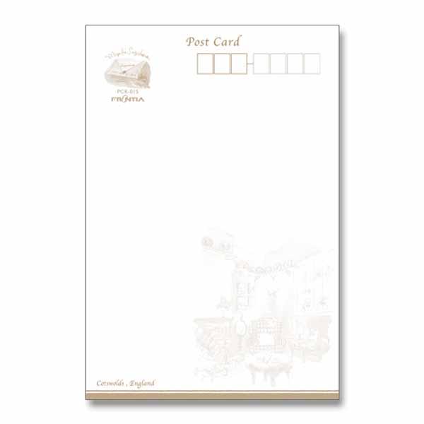 ポストカード イギリスラベンダーの丘|pcr-015