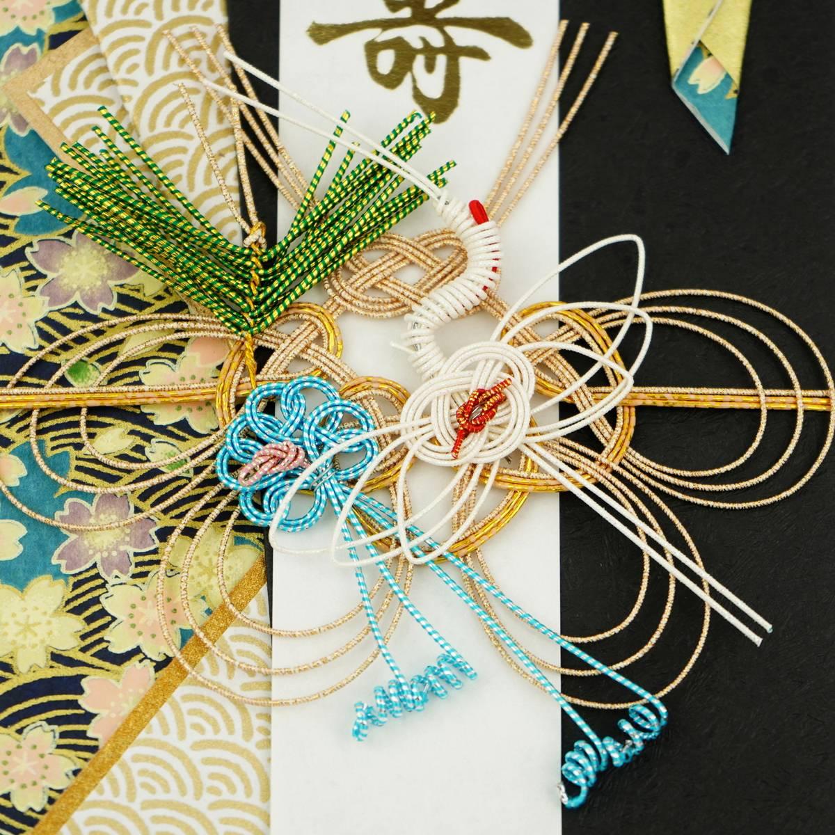 祝儀袋 寿 鶴と波紋 sg-224