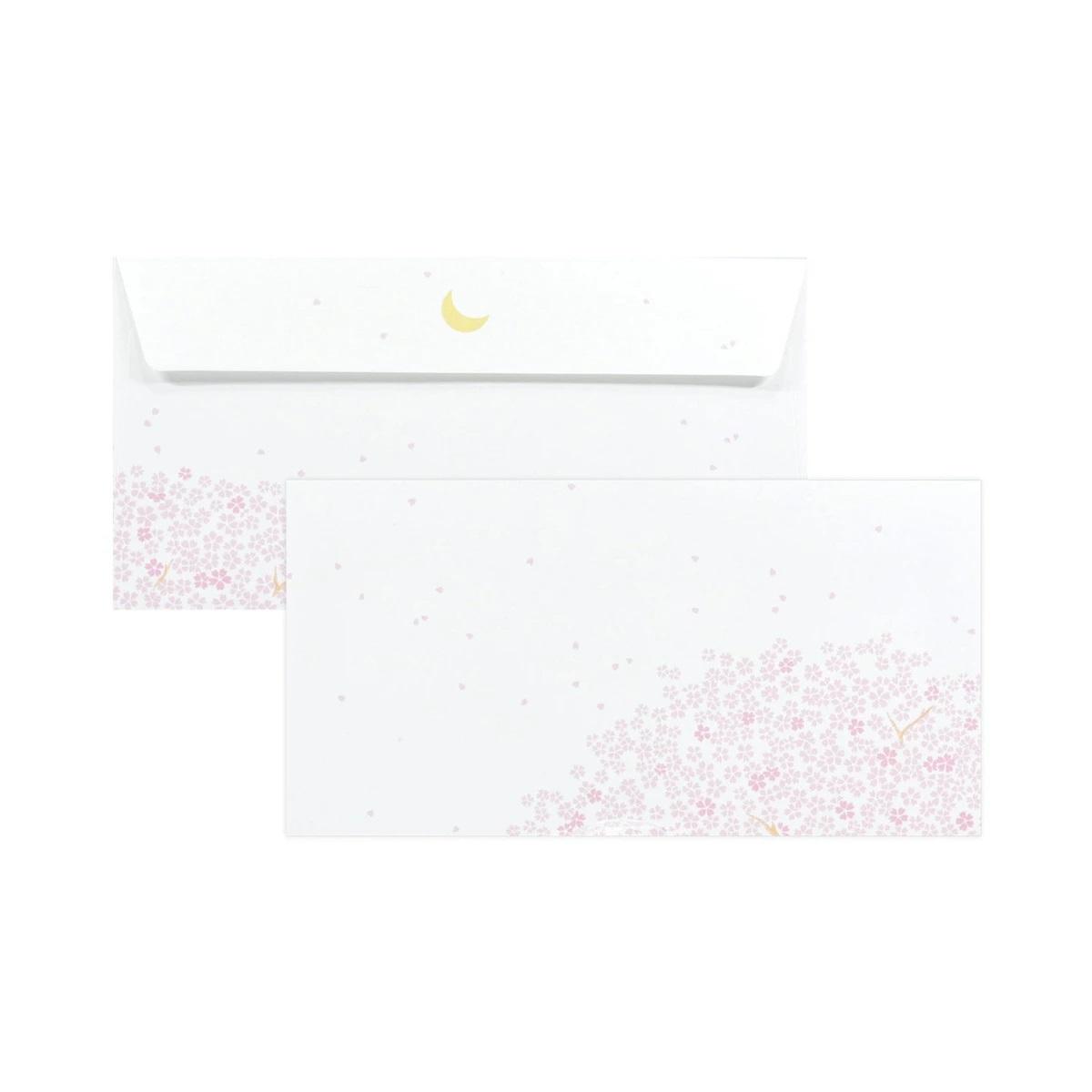 封筒 夜桜|ev-543