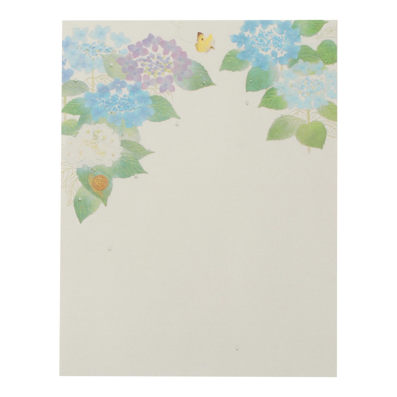 便箋 紫陽花|pd-546