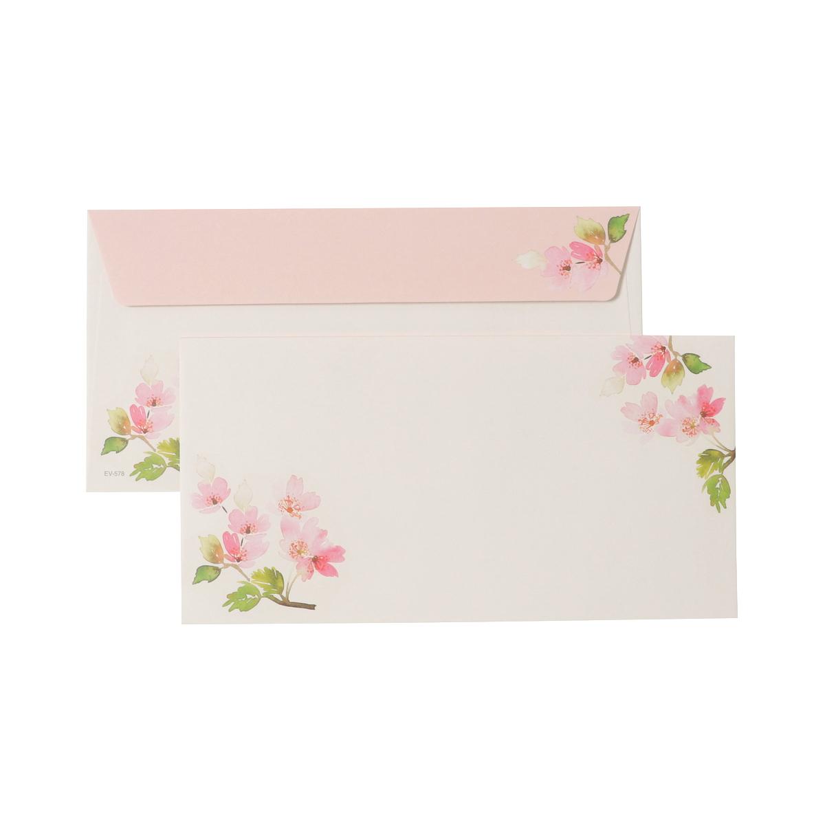 封筒 満開の桜|ev-578