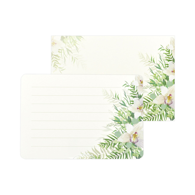 ミニレターセット 蘭の花束 mls-113