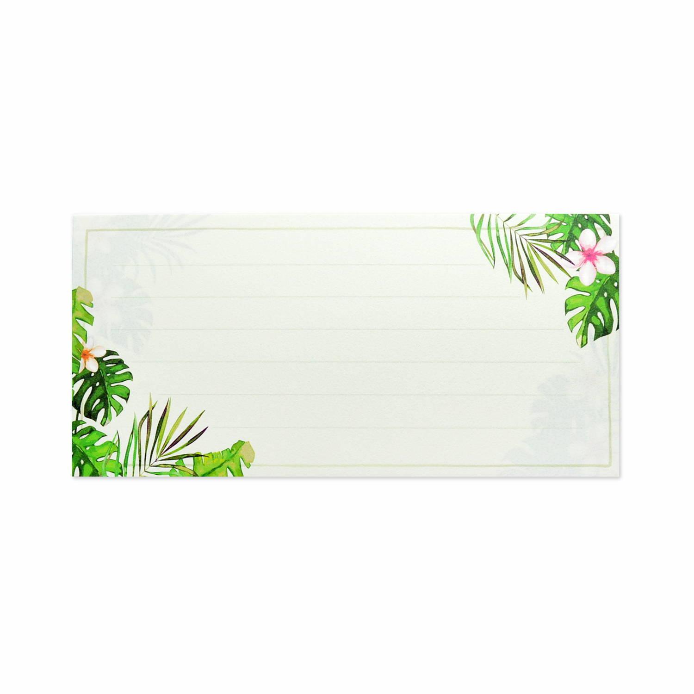 一筆箋 Aloha モンステラ|mp-501
