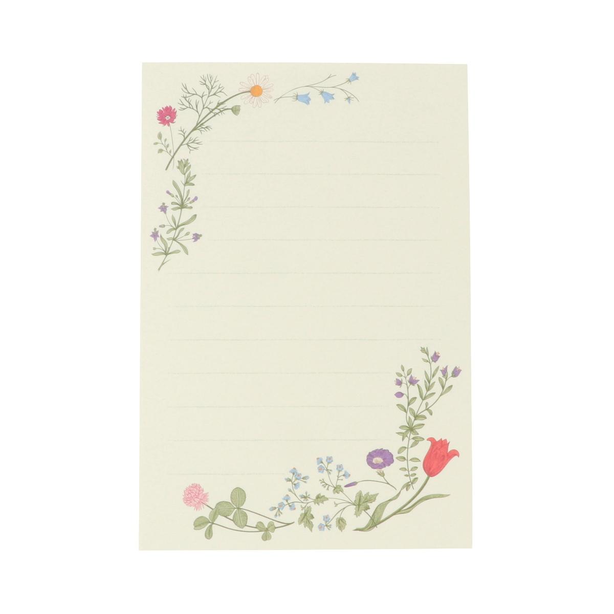 はがき箋 春の息吹|hgs-410