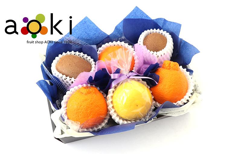 お供え・お悔みフルーツギフトA[デコポン キウイフルーツ おすすめ柑橘2種](常温便)