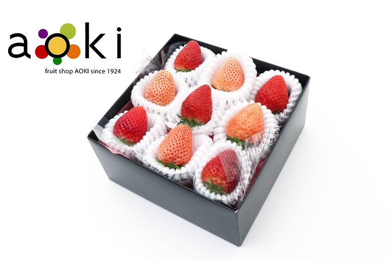 【送料込】【いちご】紅白いちごミニボックス