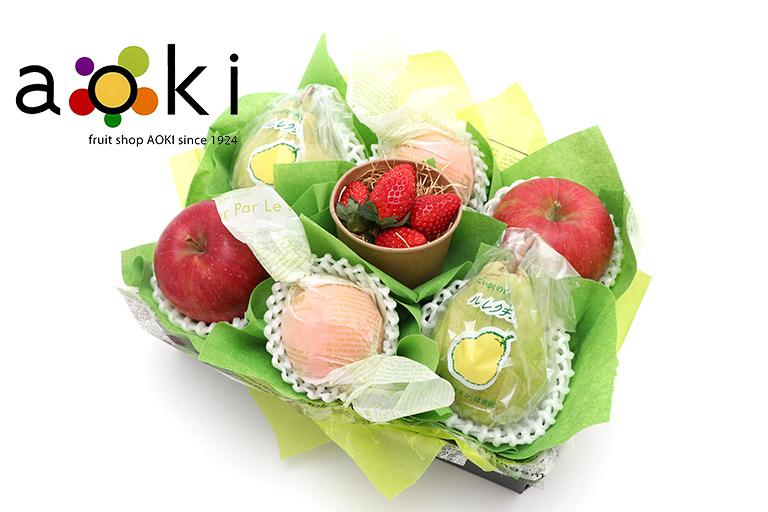 【お歳暮フルーツギフト】【送料込】冬の贈り物フルーツギフトD[みかん 洋梨 りんご いちご] お歳暮商品