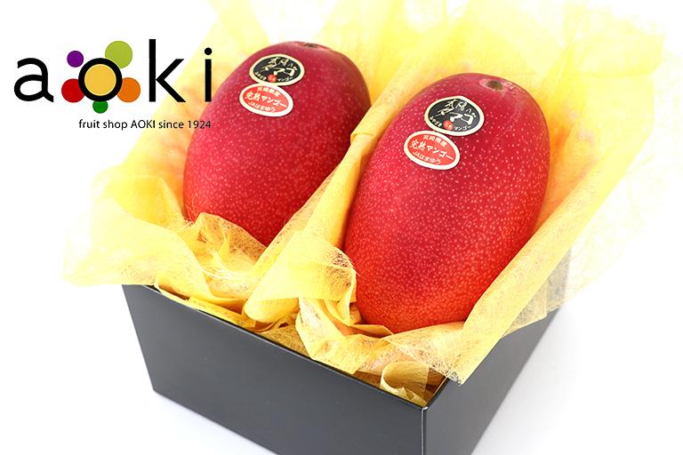 【糖度15度以上】太陽のタマゴ(2L・2個入)[完熟マンゴー](クール便)