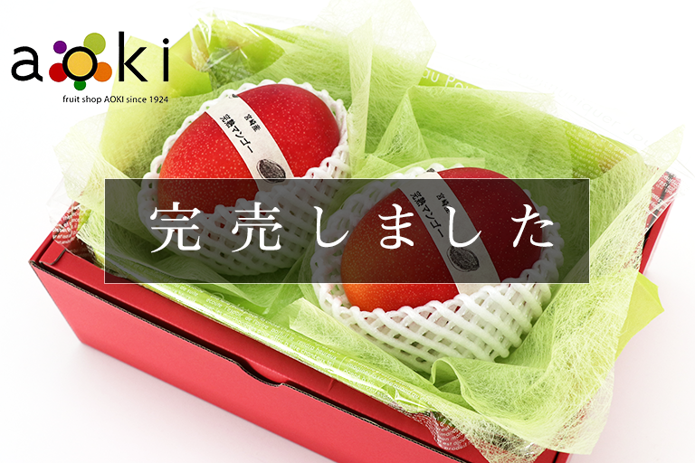 宮崎県産 完熟マンゴー 小玉 2個入