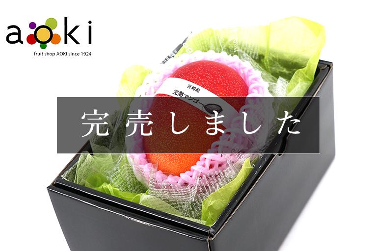 宮崎県産 完熟マンゴー 大玉