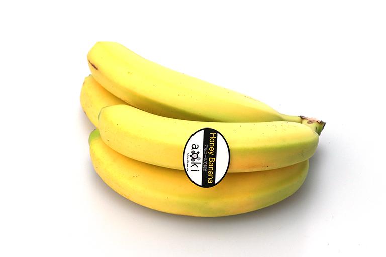 【オンラインマーケット】エクアドル産 ハニーバナナ 3〜4本