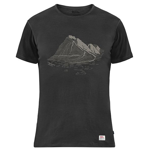 Keb Wool T-shirt Print M