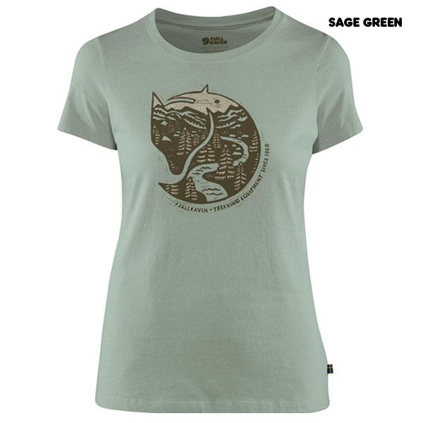 Arctic Fox Print T-Shirt W
