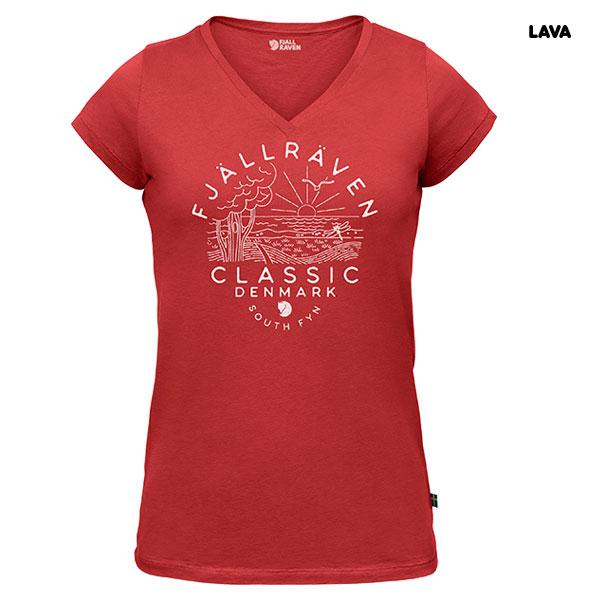 【残り1点/入荷終了品】Fjallraven Classic DK T-Shirt W