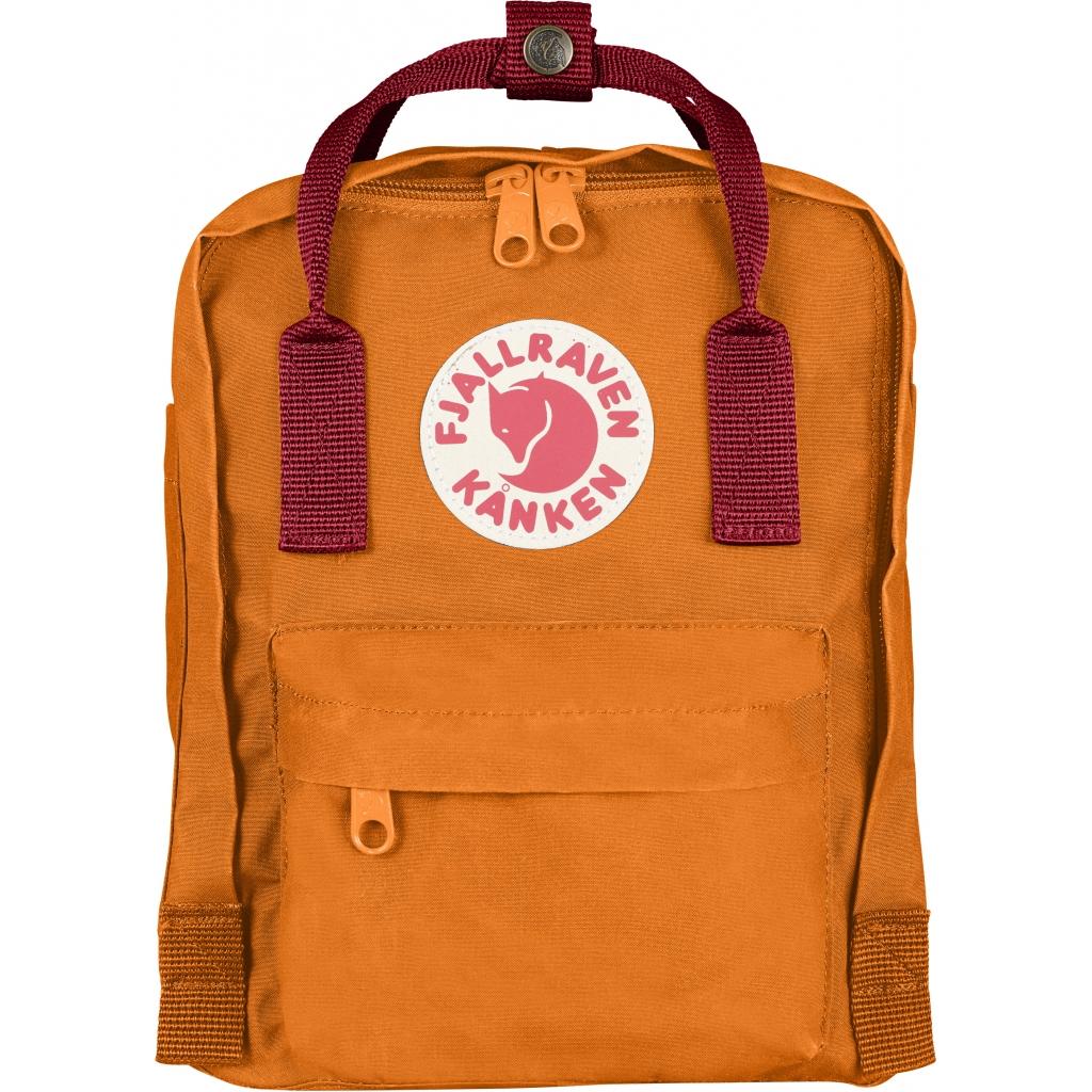 Kanken Mini  (Burnt Orange/Deep Red 212/325)