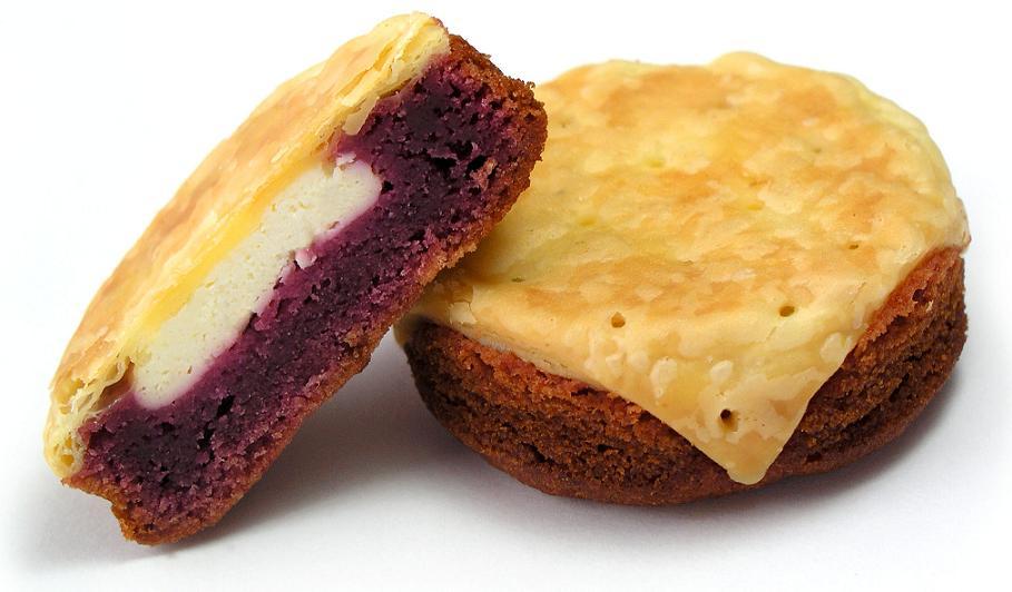 おもろ 紅いもケーキ (3個入)