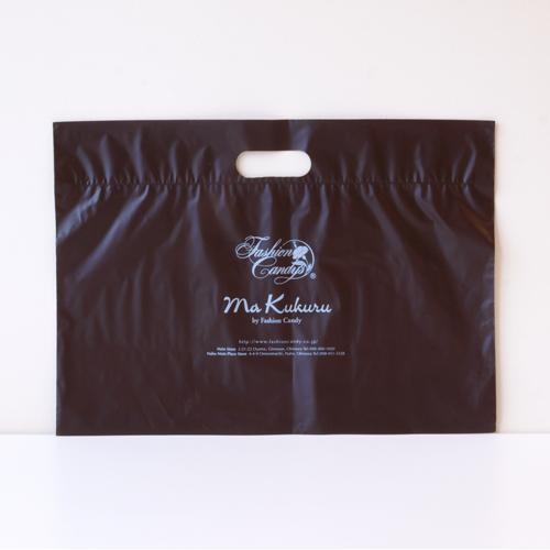 手提げポリ袋(茶ビニール)高さ310�×横428�