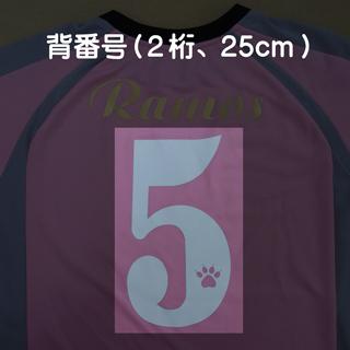 背番号(2桁、25cm)