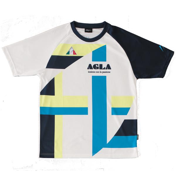 AGLA(アグラ)半袖プラクティス AG18110