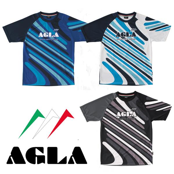 AGLA(アグラ)半袖プラクティス AG18140