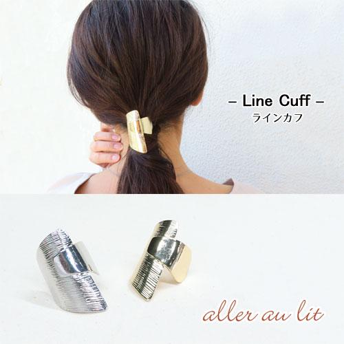 -Line cuff ラインカフ-ハーフメタル【アレオリ】
